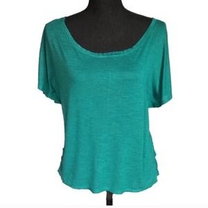 AMERICAN EAGLE | Teal Green Short Sleeve Tee XS